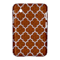 Tile1 White Marble & Rusted Metal Samsung Galaxy Tab 2 (7 ) P3100 Hardshell Case