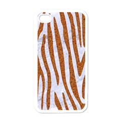 Skin4 White Marble & Rusted Metal Apple Iphone 4 Case (white)
