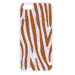 Skin4 White Marble & Rusted Metal Apple Iphone 5 Seamless Case (white)