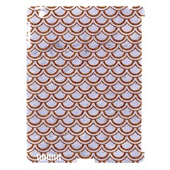 Scales2 White Marble & Rusted Metal (r) Apple Ipad 3/4 Hardshell Case (compatible With Smart Cover)