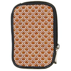 Scales2 White Marble & Rusted Metal Compact Camera Cases