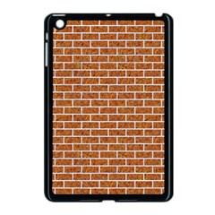 Brick1 White Marble & Rusted Metal Apple Ipad Mini Case (black)