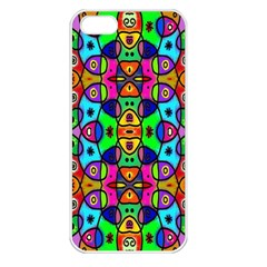 Artwork By Patrick Pattern 18 Apple Iphone 5 Seamless Case (white)