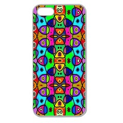 Artwork By Patrick Pattern 18 Apple Seamless Iphone 5 Case (clear)