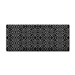 Black And White Tribal Print Cosmetic Storage Cases