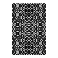 Black And White Tribal Print Shower Curtain 48  X 72  (small)