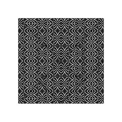 Black And White Tribal Print Acrylic Tangram Puzzle (4  X 4 )