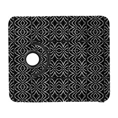 Black And White Tribal Print Galaxy S3 (flip/folio)