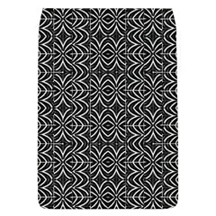 Black And White Tribal Print Flap Covers (l)