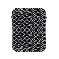 Black And White Tribal Print Apple Ipad 2/3/4 Protective Soft Cases