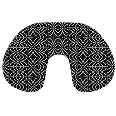 Black And White Tribal Print Travel Neck Pillows