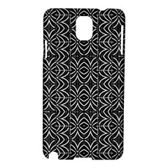 Black And White Tribal Print Samsung Galaxy Note 3 N9005 Hardshell Case