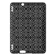 Black And White Tribal Print Kindle Fire Hdx Hardshell Case