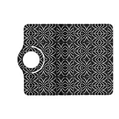 Black And White Tribal Print Kindle Fire Hd (2013) Flip 360 Case
