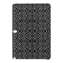 Black And White Tribal Print Samsung Galaxy Tab Pro 10 1 Hardshell Case