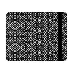 Black And White Tribal Print Samsung Galaxy Tab Pro 8 4  Flip Case