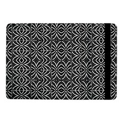 Black And White Tribal Print Samsung Galaxy Tab Pro 10 1  Flip Case
