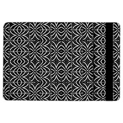 Black And White Tribal Print Ipad Air 2 Flip