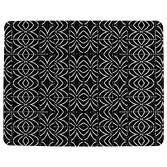 Black And White Tribal Print Jigsaw Puzzle Photo Stand (rectangular)