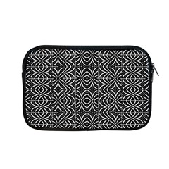 Black And White Tribal Print Apple Macbook Pro 13  Zipper Case