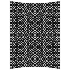 Black And White Tribal Print Back Support Cushion