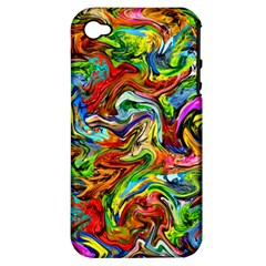 Pattern 21 Apple Iphone 4/4s Hardshell Case (pc+silicone)