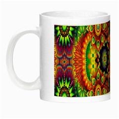 Artwork By Patrick Pattern 22 Night Luminous Mugs