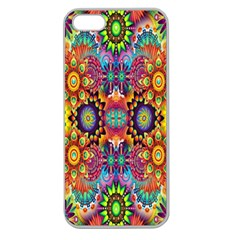 Artwork By Patrick Pattern 22 Apple Seamless Iphone 5 Case (clear)