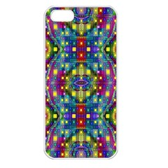 Artwork By Patrick Pattern 23 Apple Iphone 5 Seamless Case (white)