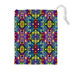 Artwork By Patrick Pattern 23 Drawstring Pouches (extra Large)