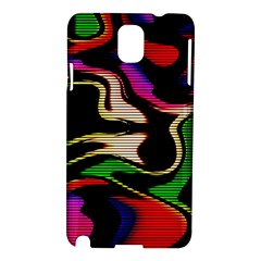 Hot Abstraction With Lines 1 Samsung Galaxy Note 3 N9005 Hardshell Case