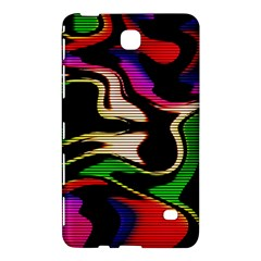 Hot Abstraction With Lines 1 Samsung Galaxy Tab 4 (8 ) Hardshell Case