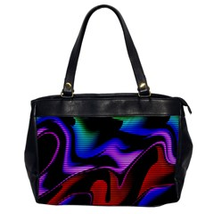 Hot Abstraction With Lines 2 Office Handbags