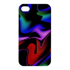 Hot Abstraction With Lines 2 Apple Iphone 4/4s Hardshell Case