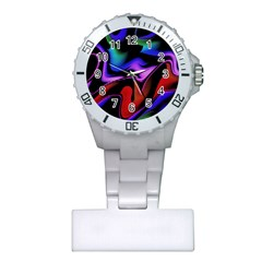 Hot Abstraction With Lines 2 Plastic Nurses Watch