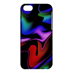 Hot Abstraction With Lines 2 Apple Iphone 5c Hardshell Case