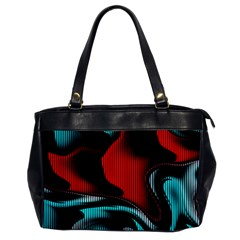 Hot Abstraction With Lines 3 Office Handbags