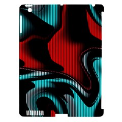 Hot Abstraction With Lines 3 Apple Ipad 3/4 Hardshell Case (compatible With Smart Cover)