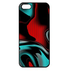 Hot Abstraction With Lines 3 Apple Iphone 5 Seamless Case (black)
