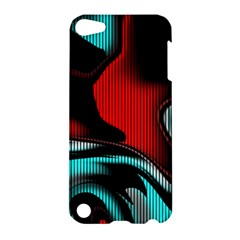 Hot Abstraction With Lines 3 Apple Ipod Touch 5 Hardshell Case