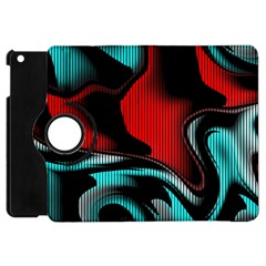 Hot Abstraction With Lines 3 Apple Ipad Mini Flip 360 Case
