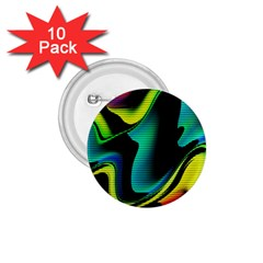 Hot Abstraction With Lines 4 1 75  Buttons (10 Pack)