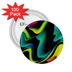 Hot Abstraction With Lines 4 2 25  Buttons (100 Pack)