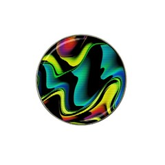 Hot Abstraction With Lines 4 Hat Clip Ball Marker (4 Pack)
