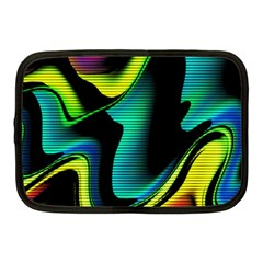 Hot Abstraction With Lines 4 Netbook Case (medium)