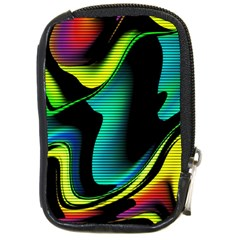 Hot Abstraction With Lines 4 Compact Camera Cases