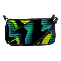 Hot Abstraction With Lines 4 Shoulder Clutch Bags
