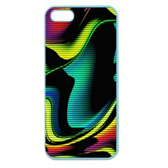Hot Abstraction With Lines 4 Apple Seamless Iphone 5 Case (color)