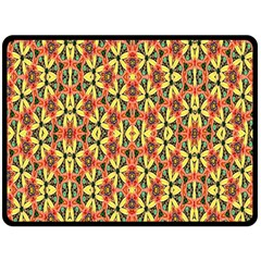 Pattern 25 Double Sided Fleece Blanket (large)