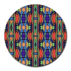 Pattern 26 Round Mousepads